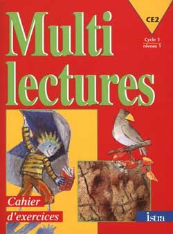 Multilectures CE2 - Cahier d'exercices - Edition 1998