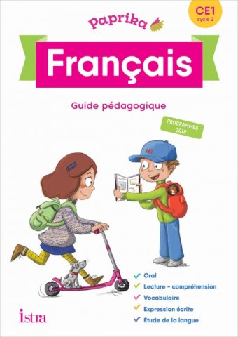 Paprika Francais Ce1 Edition France Guide Pedagogique Cd Ed 2019 Editions Istra